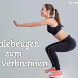 5 Übungen zum effektiven Fett verbrennen mit Sport